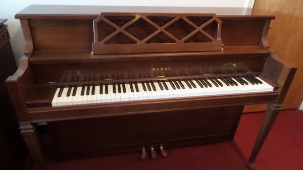 Pre-owned Kawai Satin Walnut Console Piano