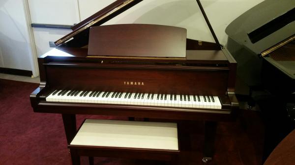 Yamaha GH-1 Satin Mahogany Grand Piano - STK# M4220904
