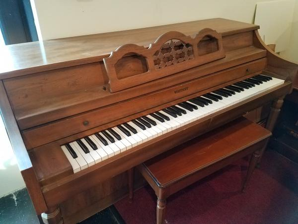 USED Whitney Spinet Piano  -  STK#  W877777