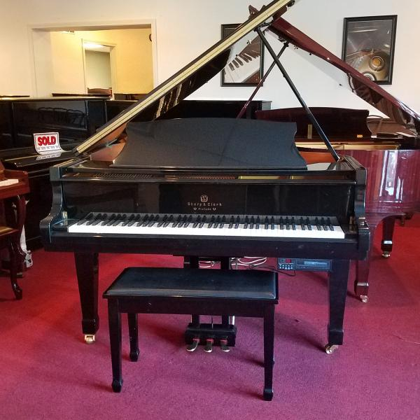 Pre-owned Story & Clark Grand Piano w/QRS Player System