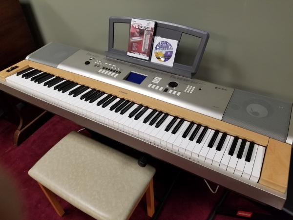 USED YAMAHA YPG-635 KEYBOARD