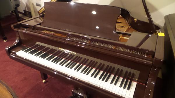 NEW Hallet-Davis Baby Grand Piano - STK# F1407431