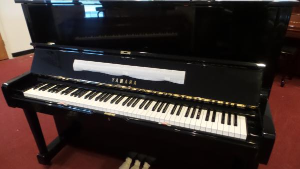 "Yamaha U1 48"" Upright Piano - STK# GH2231234"
