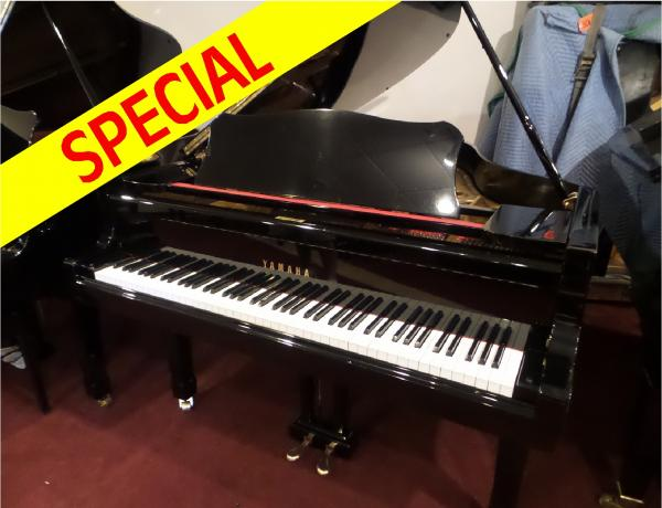 Pre-owned Yamaha C3 6' Baby Grand